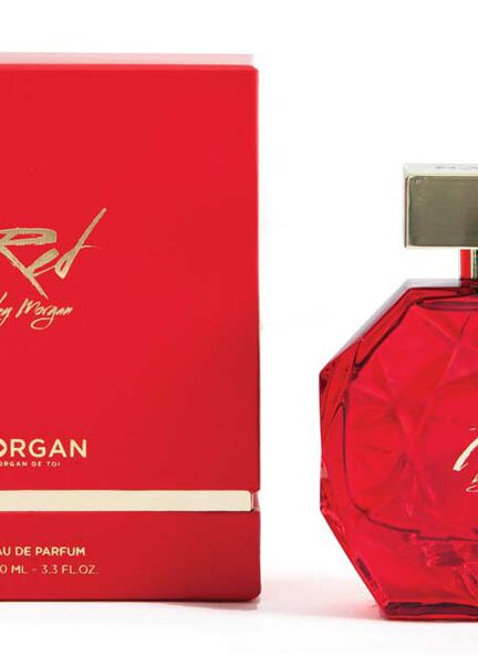 Parfum Red by Morgan 50ml rouge femme